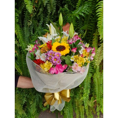 Bouquet de flores do campo nobres