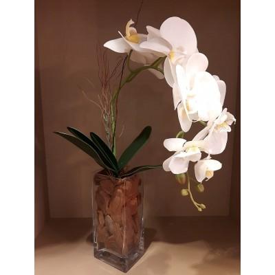 Orquídea Toque real  artificial