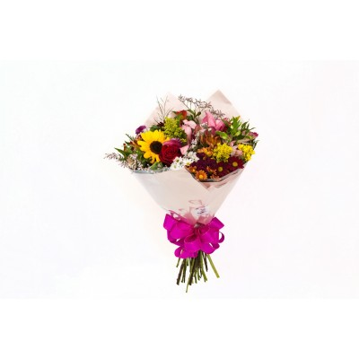 Bouquet de flores do campo nobres