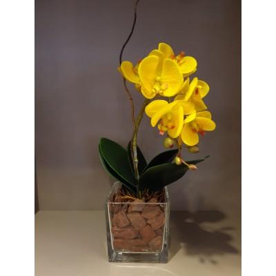 Arranjo de Orquídeas Artificias