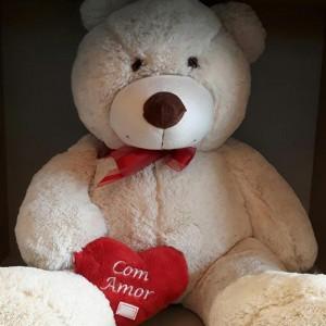 Pelúcia Urso Amor Vermelho