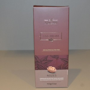 Barra chocolate Nozes Nugali